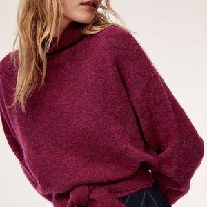 Wilfred Lorin Cropped turtleneck sweater